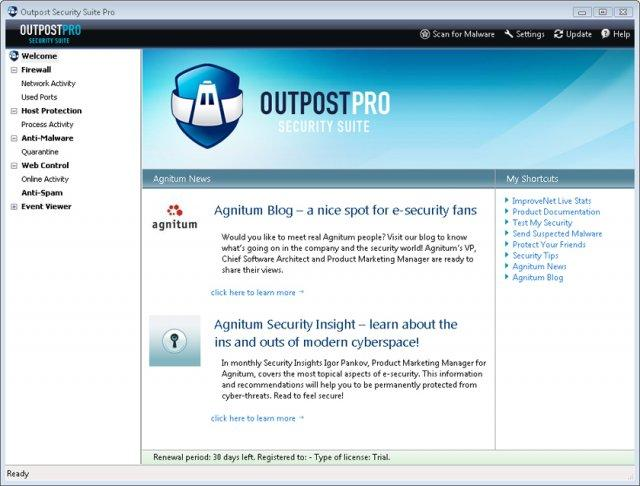 Скачать Download : Agnitum Outpost Security Suite Pro 2008 6.0.2220 Cracked - 30